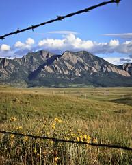 Prairie and Mountains