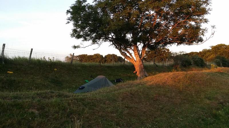 Tonight's camp #Wealdway #sh