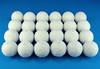 Crocheted Decorative Snowballs (Gehaakte Decoratieve Sneeuwballen) by Made by BeaG