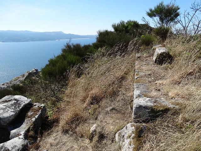 Ruinas de la capilla de la Magdalena en Montelouro