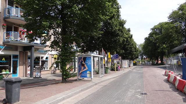 Station Harderwijk, 1 augustus 2015 werkzaamheden busstation