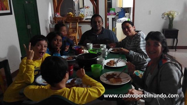 Compartiendo unos dias inolvidables con Johana, Theo, Maria José y Matias en Silvia
