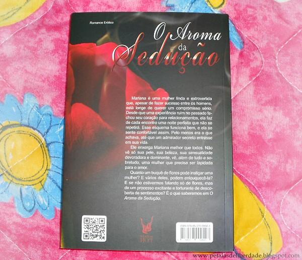 Resenha, livro, O Aroma da Sedução, Jéssica Anitelli, contracapa, sinopse