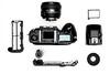 Zerlegte Nikon F5 by Sascha Kuhnle
