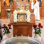 Божественная литургия в Дивноморске 18 января 2017