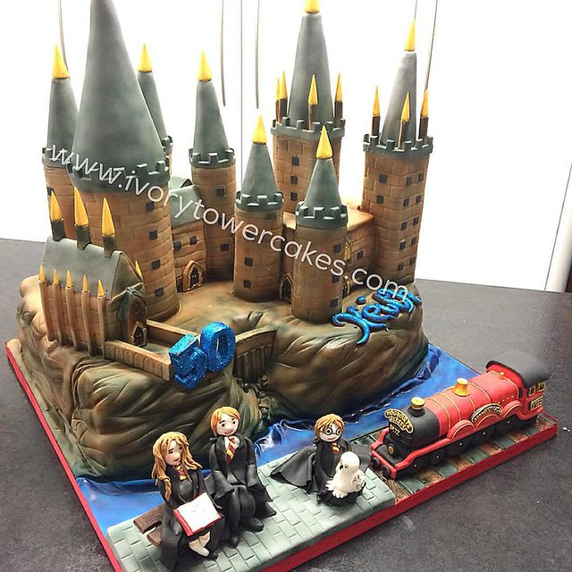Hogwarts Castle Birthday Cake by Ivory Tower Cakes Ltd