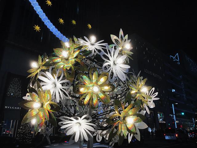 Light Display at Ginza, Tokyo