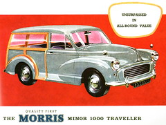 Morris Minor 1000 Traveller (late 1950s or early 1960s)