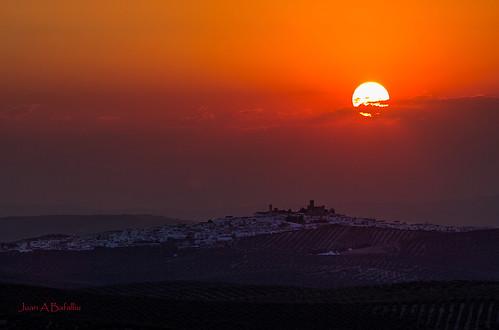 Última puesta de Sol...