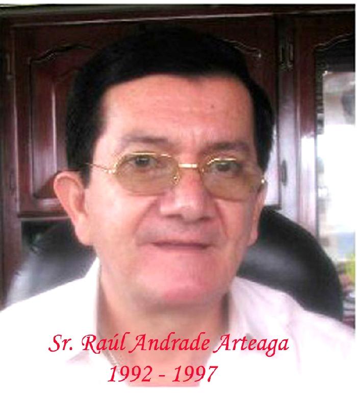 Sr. Raúl Andrade Arteaga
