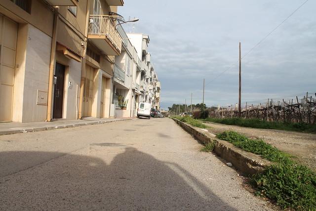 Rutigliano- Gli ostacoli in via Adriatico