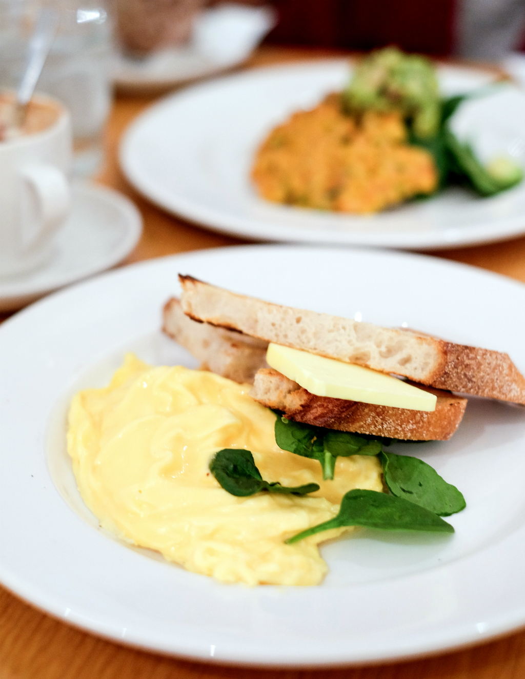 Bills Restaurant @ Darlinghurst: The best scrambled eggs in the world