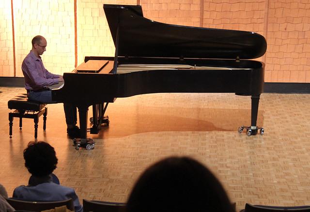 "IGNACIO BRASA, PIANO - AUDITORIO ""ÁNGEL BARJA"" 15.06.15"