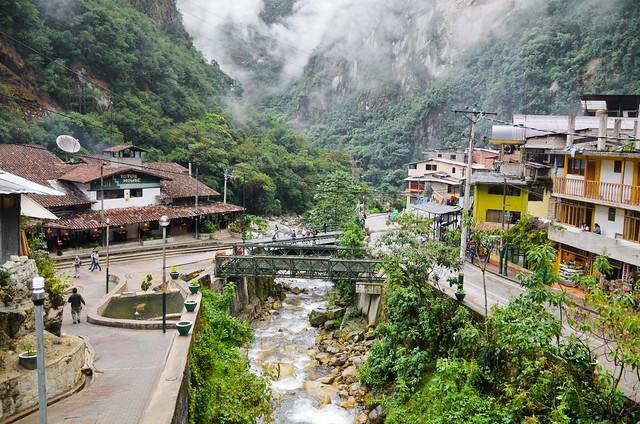 Aguas Calientes, el pueblo de Machu Picchu