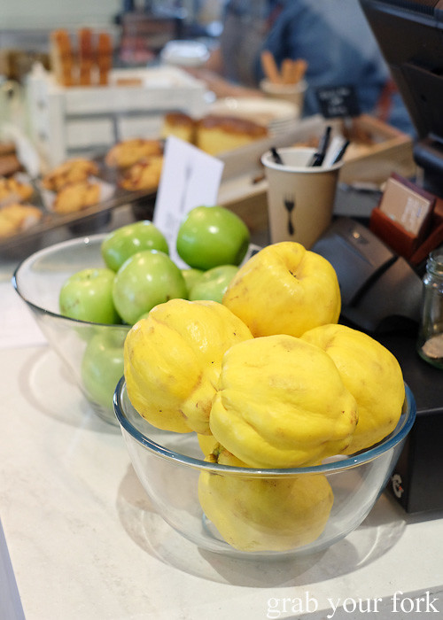 Quince at Cafe Oratnek, Redfern