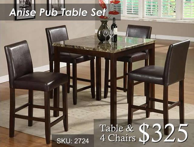 2724 Anise Dining Set