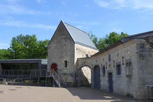 inside view of castle and visitor centre