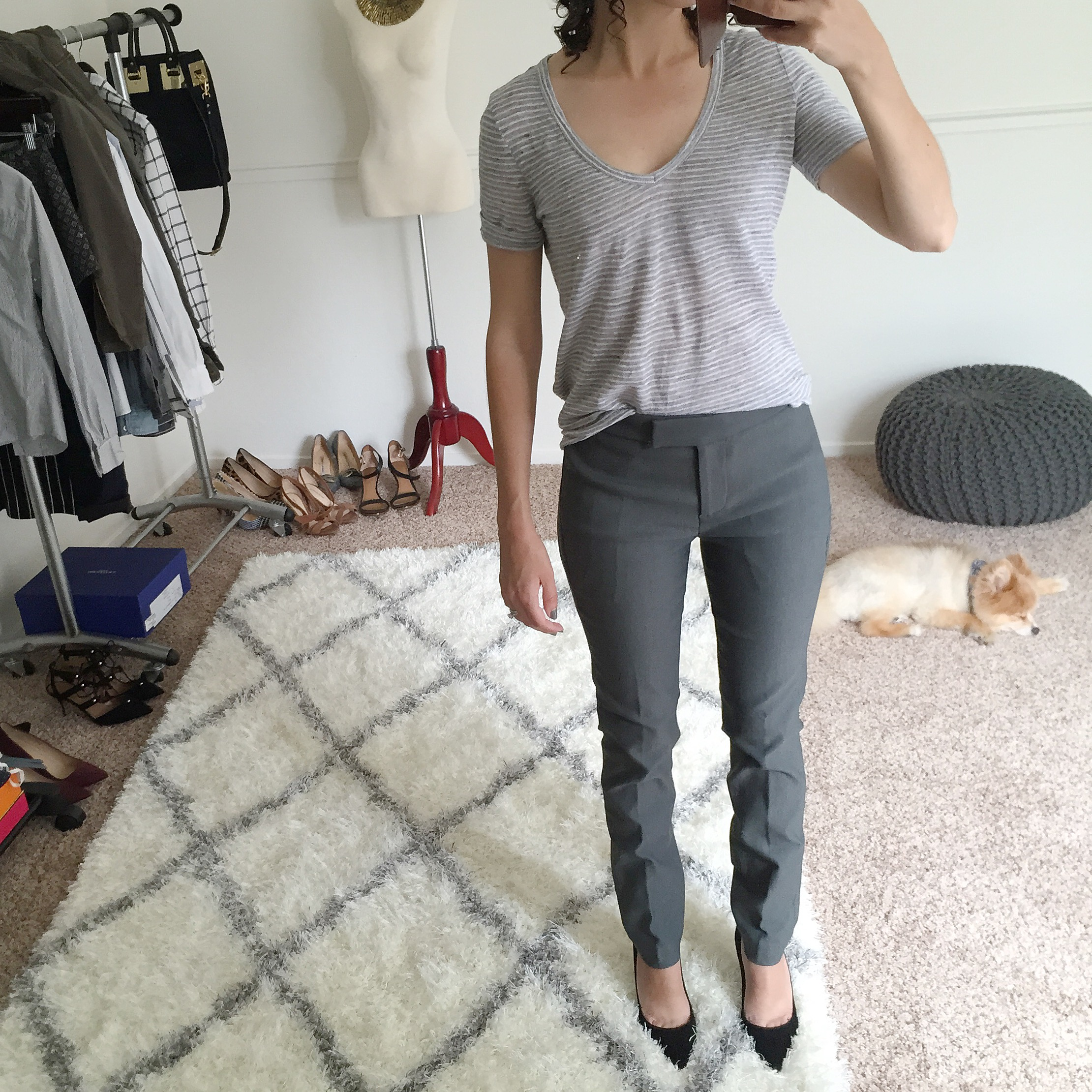J.Crew Petite Ryder Pant Fit Review