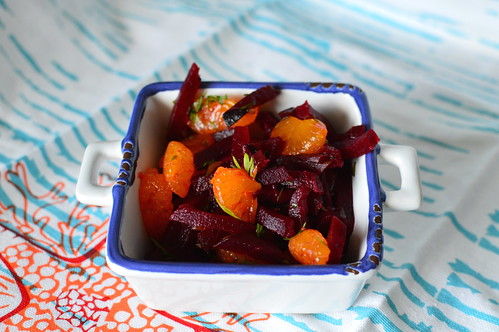 Vegan Beet & Orange Salad
