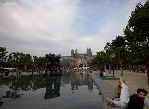 Rijksmuseum #throughglass