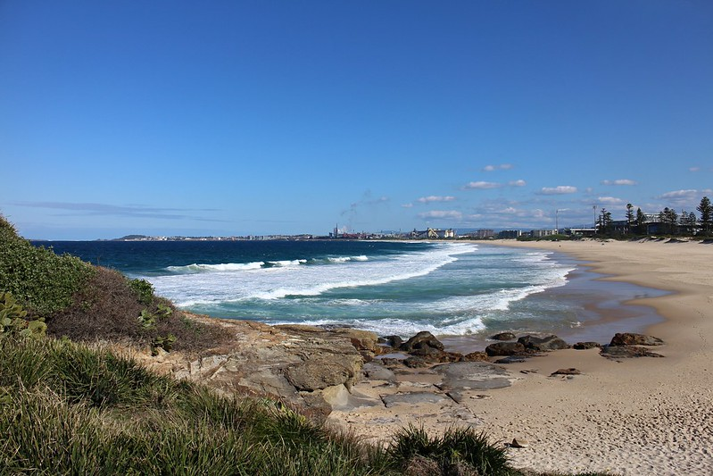 Wollongong beaches and harbour