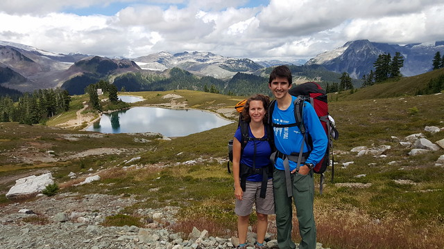 At Elfin Lakes