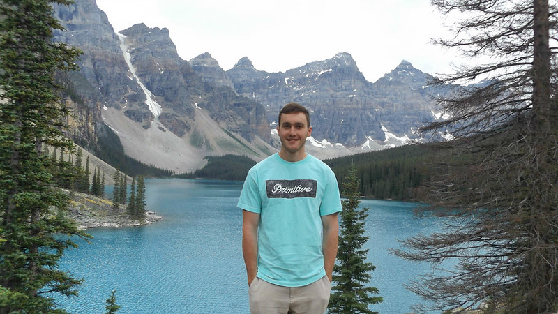 Lew at Moraine Lake