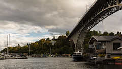 Seattle   |   Aurora Bridge & Lake Union