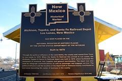 Old Atchison, Topeka and Santa Fe Railroad Depot (Los Lunas, New Mexico)