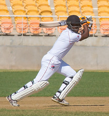 Jason Mohammed gathers off-side runs