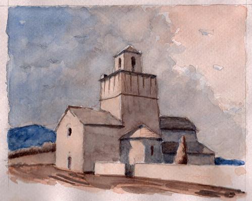Comps (Eglise St Pierre et Paul)