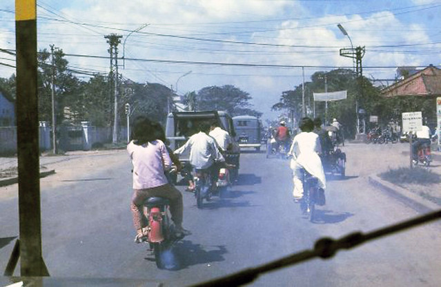 1967 Photo by Mike Williams - Scene along the main road entering Saigon