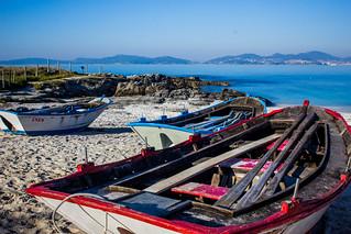 Зображення Praia da Fontaíña Fontaiña Beach поблизу Vigo. españa spain galicia galiza europe europa praia de frechiño beach playa ria vigo atlántico atlantic