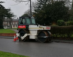 Road roller - Clee Hill - Fox Hollies Road, Hall Green
