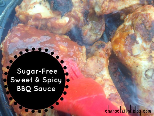 Sugar-Free Sweet and Spicy BBQ Sauce