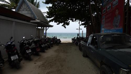 今日のサムイ島 6月28日 チャウエンビーチ