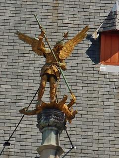 Saint Michael Rooftop Adornment