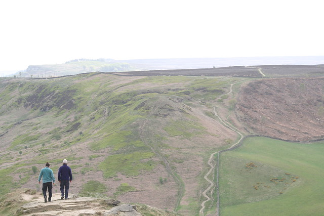 Ayton Moor and distant Gisborough Moor from Roseberry Topping