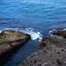 【季风】· 喜欢看温柔的海浪打在岩石上激起白色的浪花