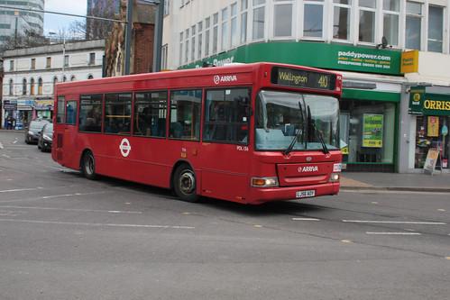Arriva London South PDL136 LJ56AOY