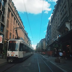 Tram by Sam Salek