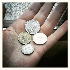 brand(0.0), hand(1.0), cash(1.0), metal(1.0), money(1.0), silver(1.0), coin(1.0), currency(1.0),