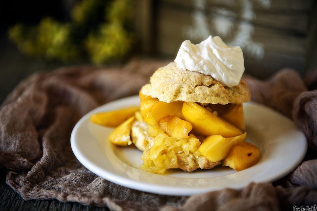 Peach Shortcakes \\ PasstheSushi.com