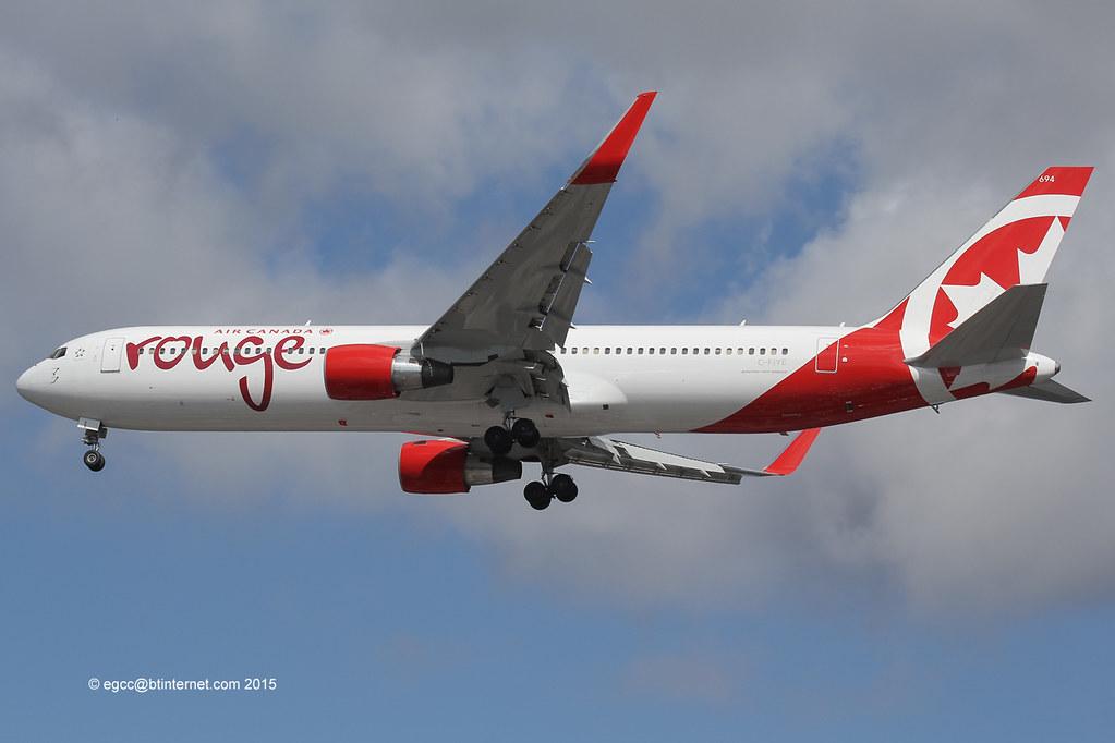 C-FIYE - B763 - Air Canada Rouge