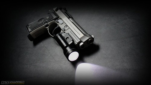 Beretta 92FS Compact with a TLR-1 Streamlight