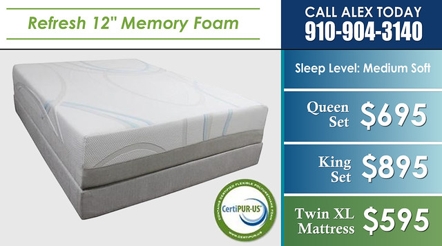 Refresh Memory Foam 12in