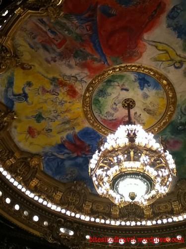 Chagall ceiling Paris Opera