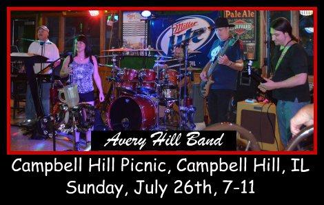Avery Hill Band 7-26-15