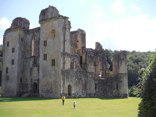 Old Wardour Castle from Ticket Office