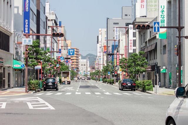 Himeji City street.